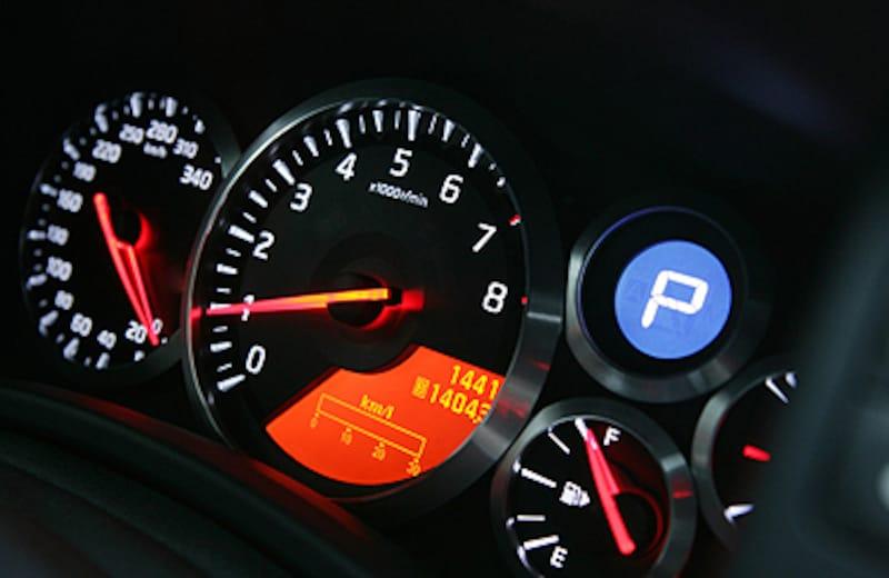 GT-Rスピードメーター