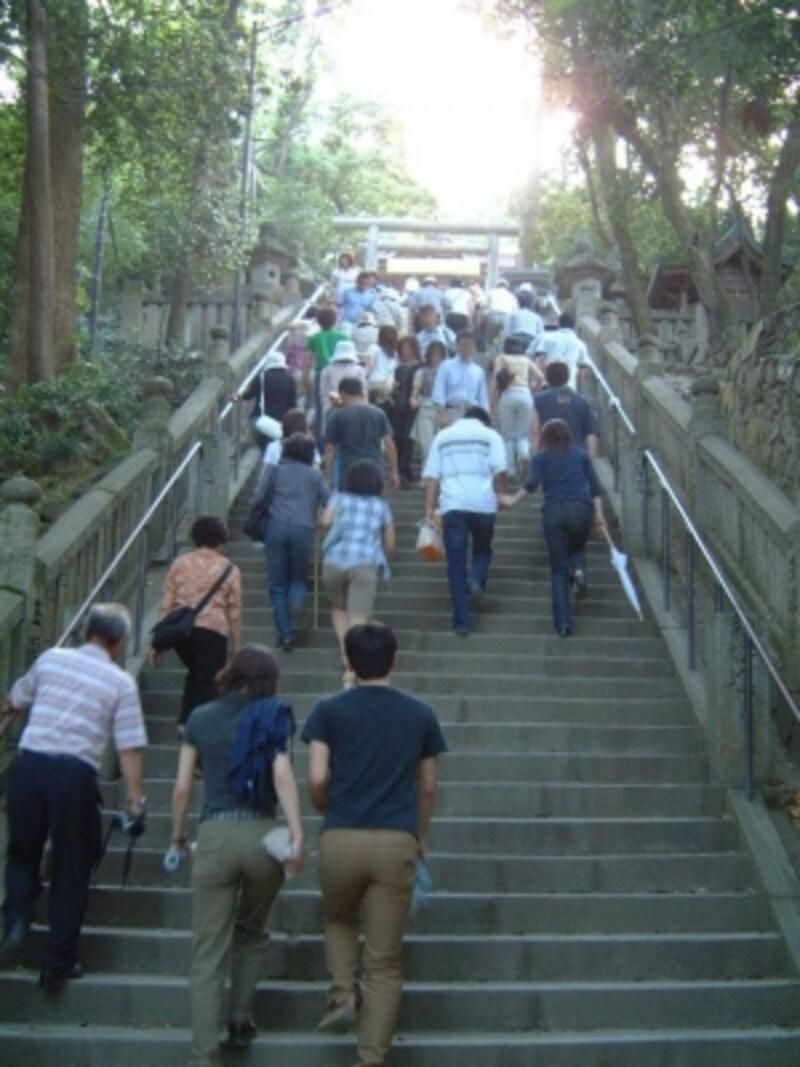 金刀比羅宮(9)/御前四段坂