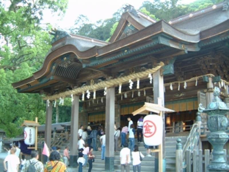 金刀比羅宮、1368段の階段登り/四国・香川