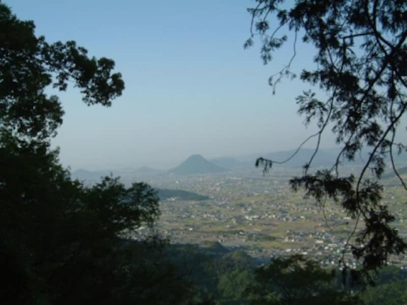 金刀比羅宮(13)/奥社からの讃岐平野の眺め