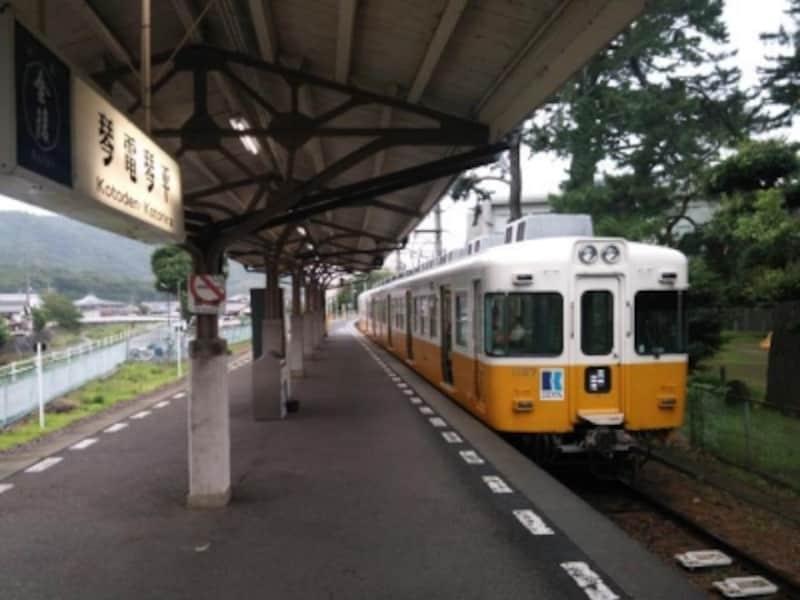 金刀比羅宮への最寄り駅/琴電琴平駅