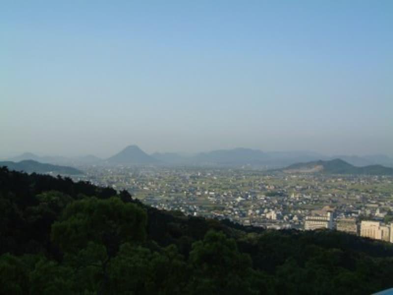 金刀比羅宮(11)/本宮横の展望台からの眺め