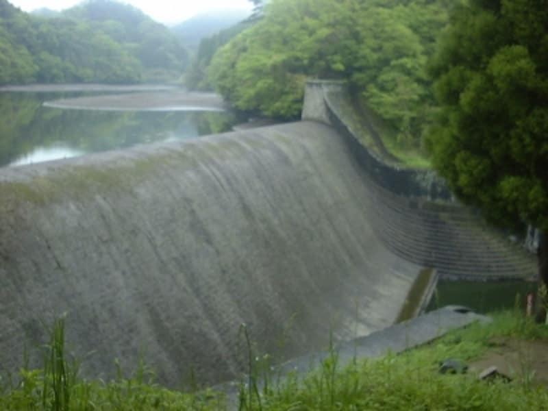 白水溜池堰堤(4)