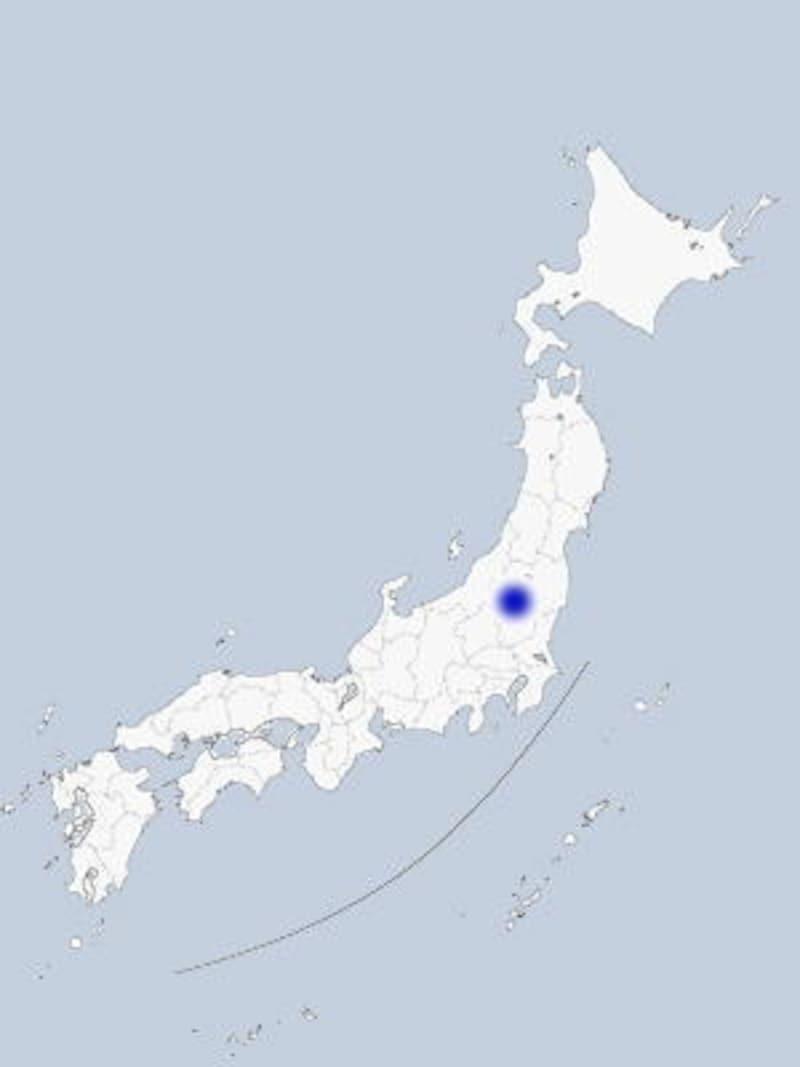 会津・大内宿の地図