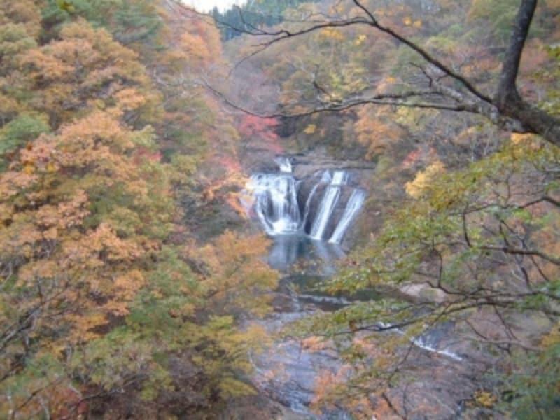 袋田の滝周辺の紅葉(5)/生瀬の滝