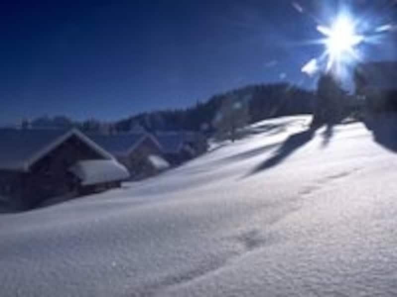 東部の冬は厳しい(アルダハン)