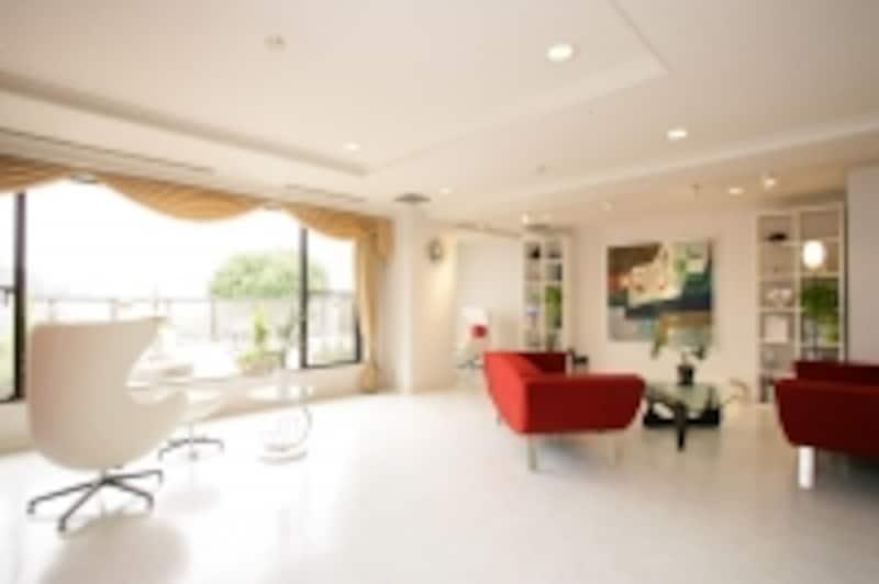 セレブの邸宅のような落ち着きのある空間についつい長居する人も
