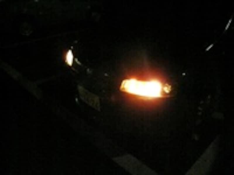 ライトの明るさ