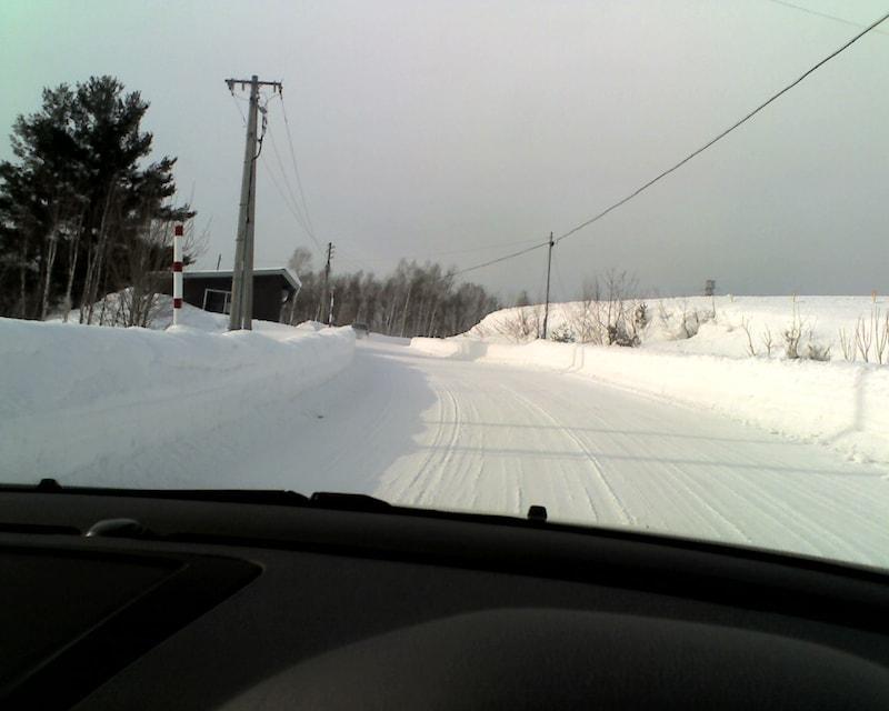 雪道の視界確保