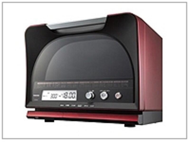 ガイドが注目している「東芝・石窯オーブン」ドーム型をPRしたデザインも目を惹きます