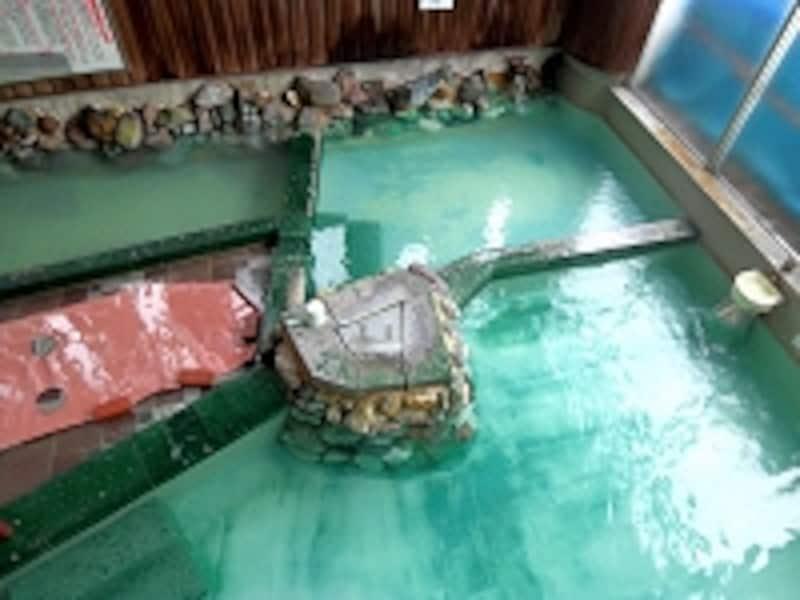 ガイドいちおしの極上名湯! ホテルプラザの大浴場