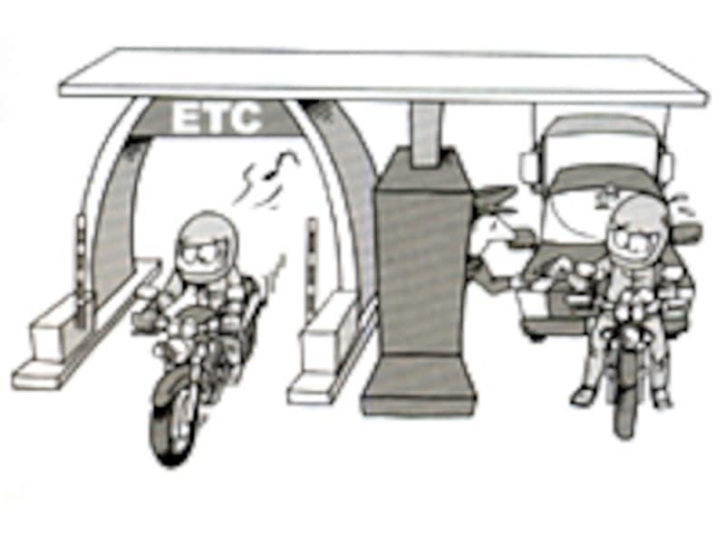 ETCがあれば料金所もスムーズ