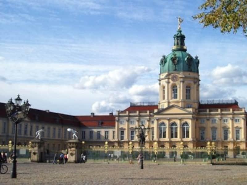 ベルリンでは貴重なプロイセン王国時代のスポット、シャルロッテンブルク城