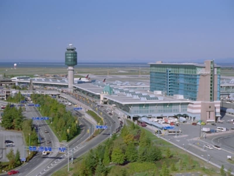 カナダ西海岸の玄関口、バンクーバー空港