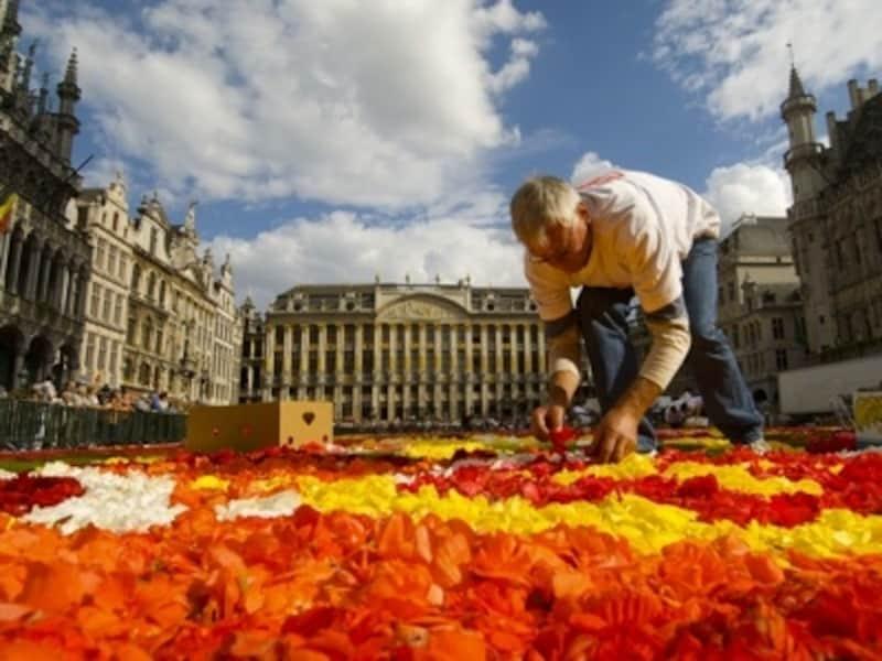 国を代表する祭典「フラワーカーペット」は偶数年の夏に開催©OPT-AlexKouprianoff