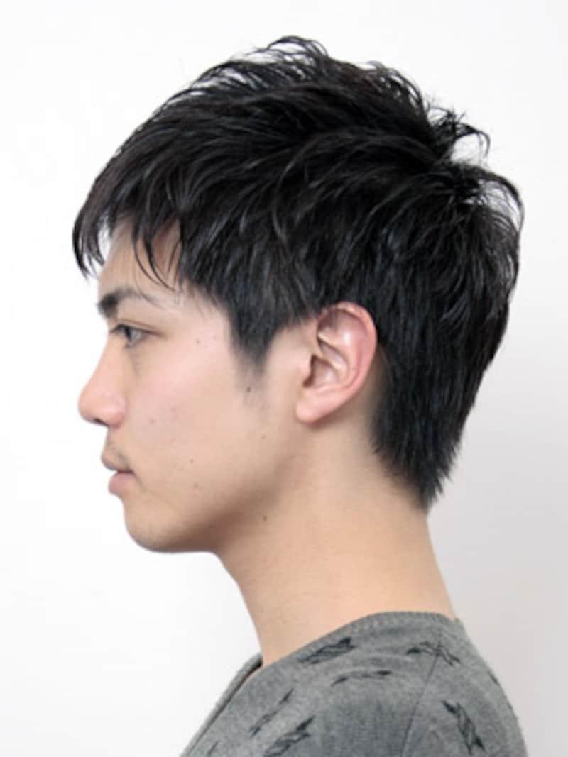 チャレンジしやすいネープレスデザイン (全文) [メンズヘア