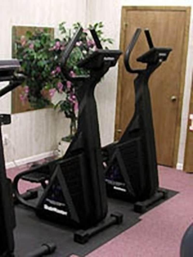 上半身の角度により使われる筋肉が変化します