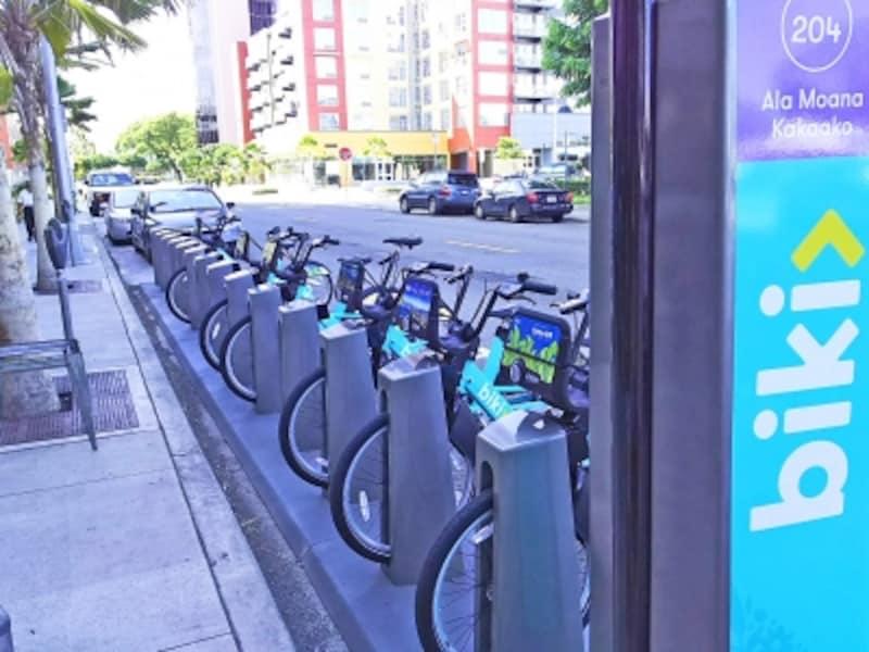 2017年6月にスタートした自転車シェアリングサービス「Biki」