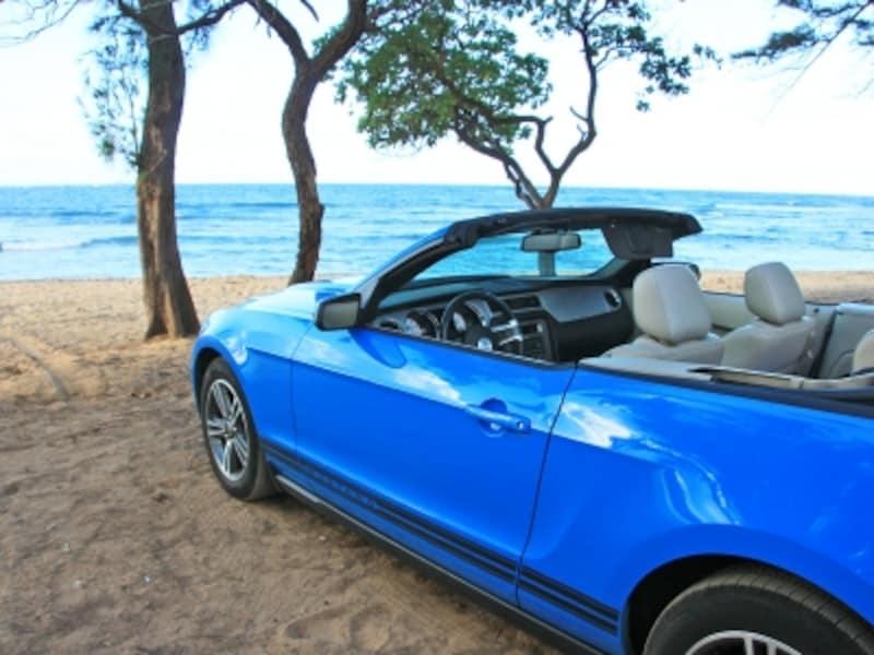 レンタカーがあれば、絶景巡りやビーチ巡りも楽しめる