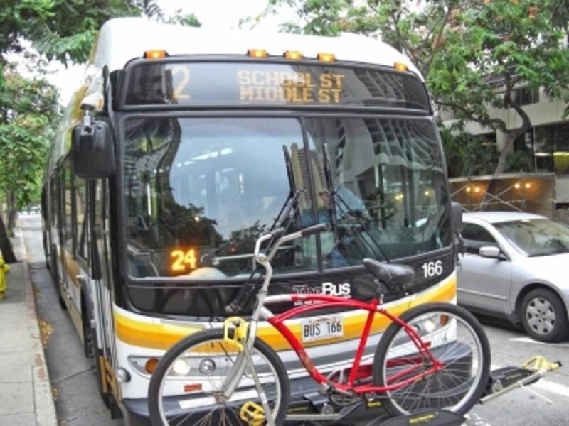 全米で最も優秀な交通機関として表彰されたザ・バス