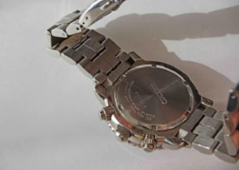 腕時計の掃除