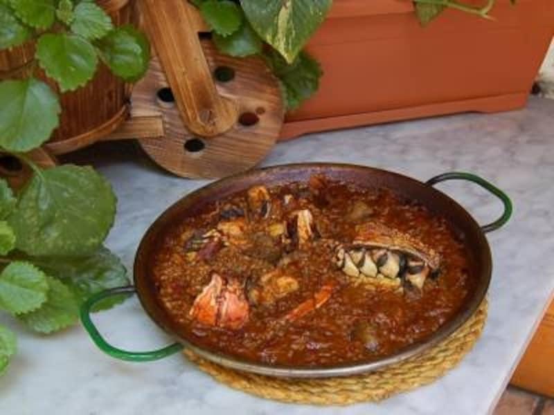 家庭的な米料理の種類が豊富なシャティバ
