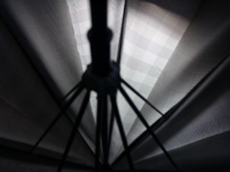 フォックスフレームの傘は細巻きが可能