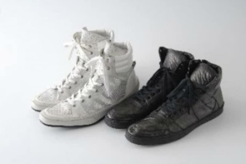 ハイカットスニーカー,靴紐,どこまで,結ぶ,結び方