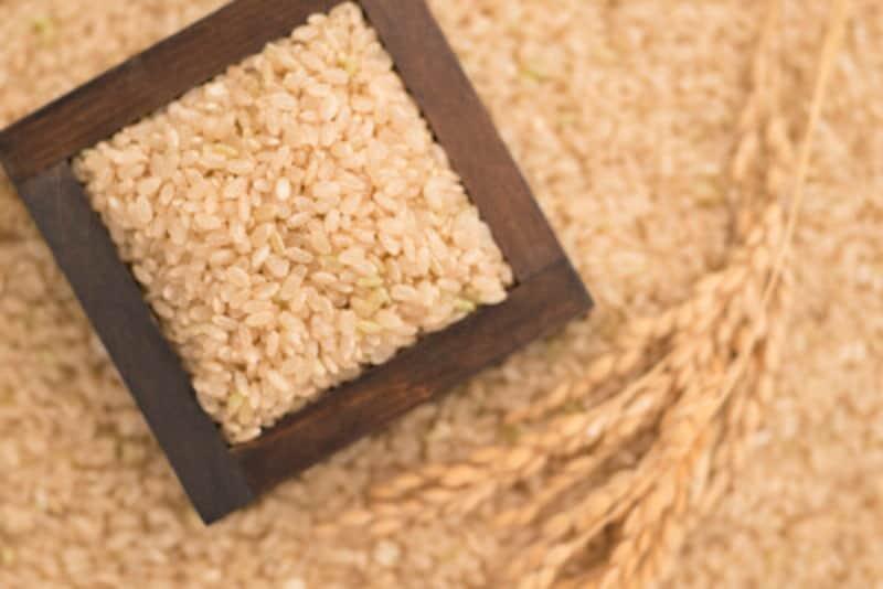 玄米ご飯は髪応えもありゆっくり木消化吸収されるから白米よりも低GI
