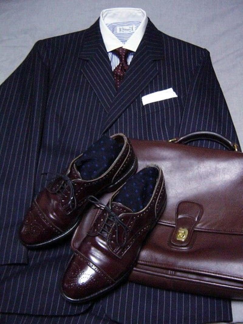セミブローグの履き方の一例