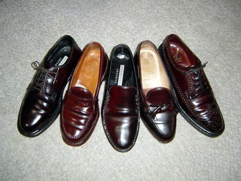 コードヴァンの靴