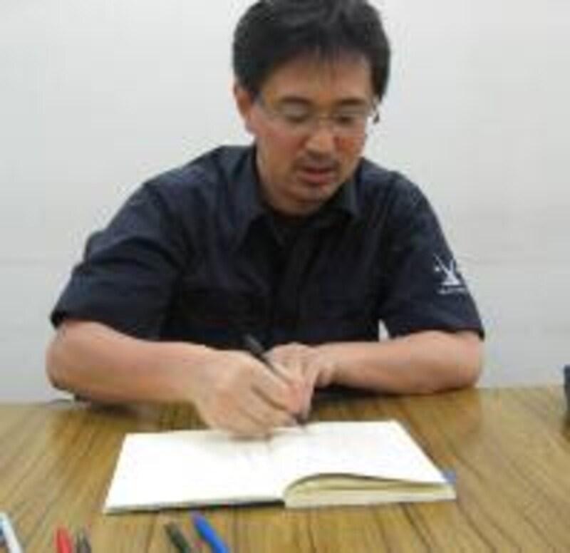 趣味の文具箱 編集長清水さん