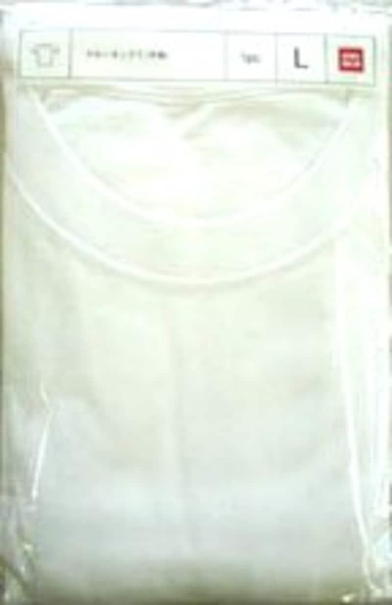 ユニクロの一番ベーシックな天竺Tシャツ