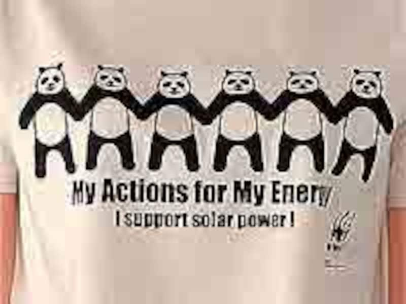 I support solar power!
