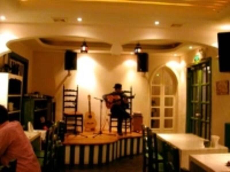 本場フラメンコギターの生演奏