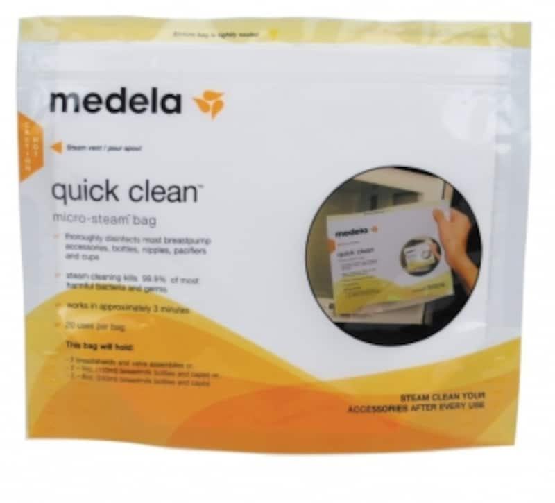 メデラ(medela)電子レンジ除菌バッグ(5パック)クイッククリーンスチームバッグ