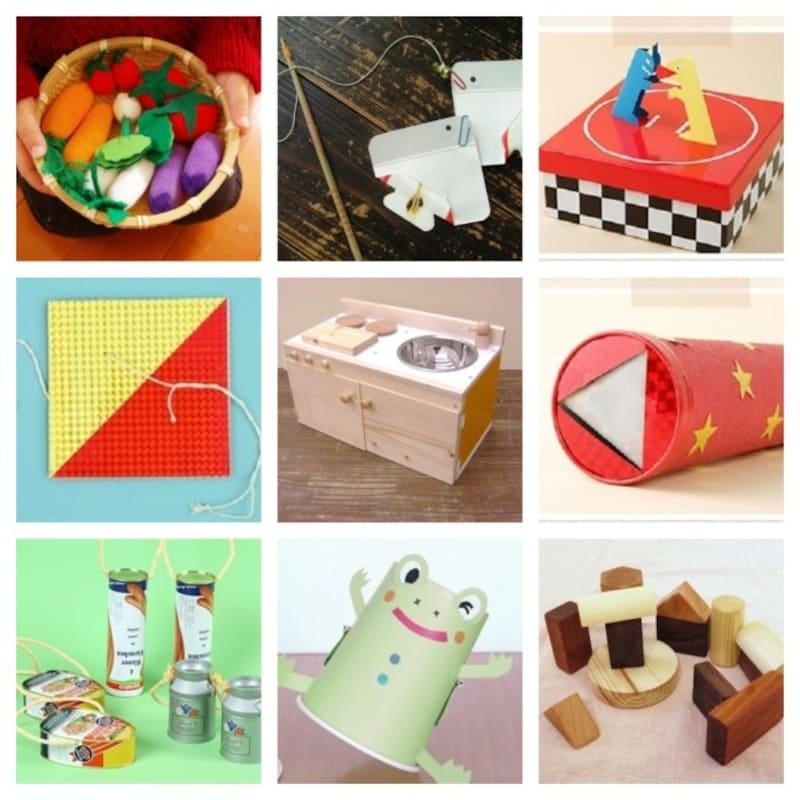 手作りおもちゃ 赤ちゃん用・水遊び・紙コップやペットボトル工作