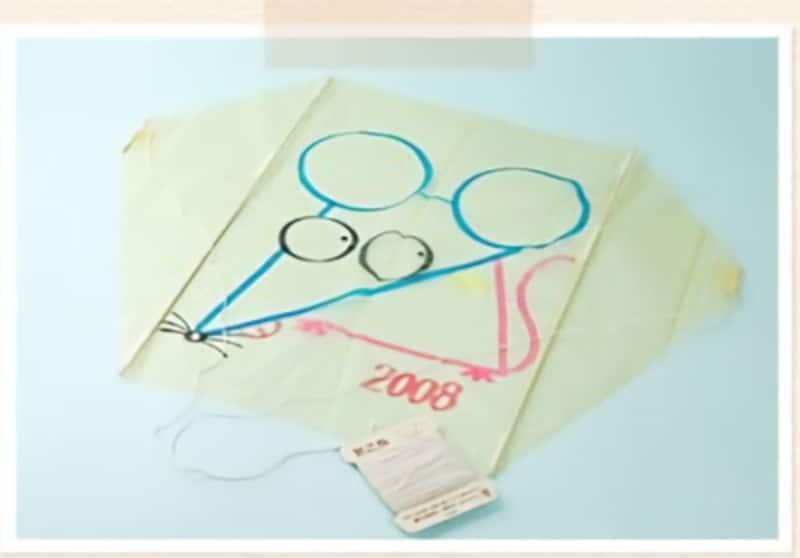 手作りおもちゃポリ袋カイト