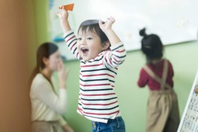2歳後半になると、心身共に成長し、保育園でも体を動かす事が増え、運動能力も高まってきます