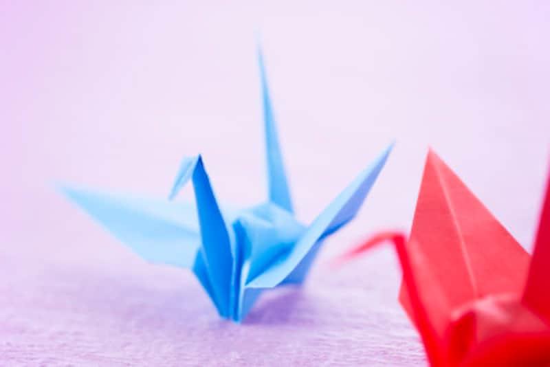 折り紙で動く鳥(鶴)を作る方法