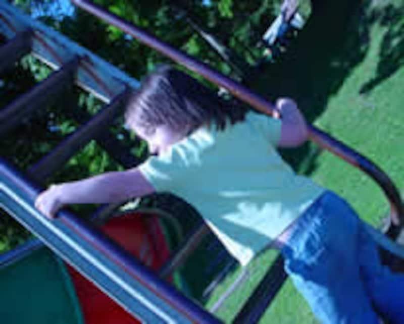 子供は外で遊び回るのが一番!