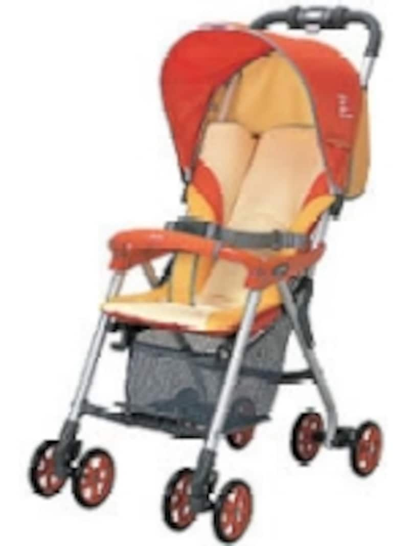 こちらはB型。基本的に座らせて使用します。ウェルキッズGT350(コンビ)