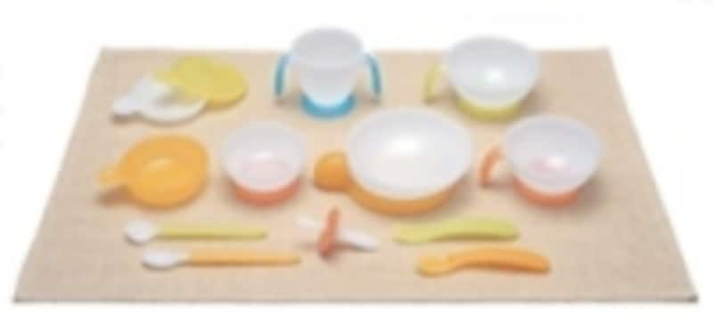 ベビーレーベル ベビー食器セット