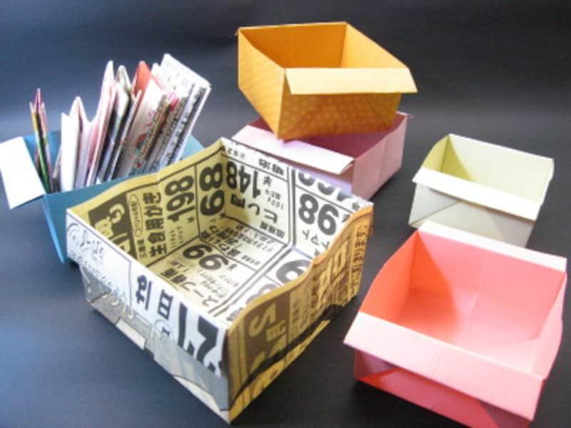 広告チラシの箱