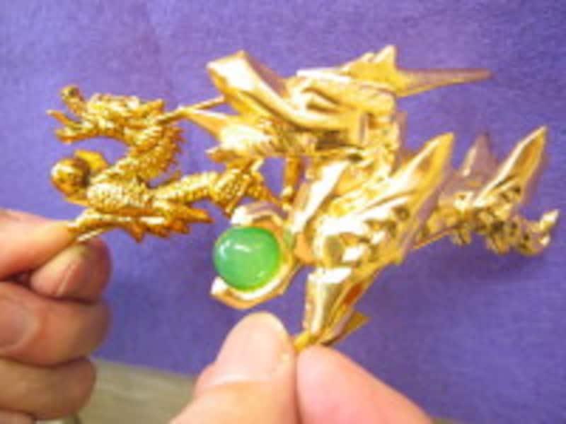 五月人形7兜の竜