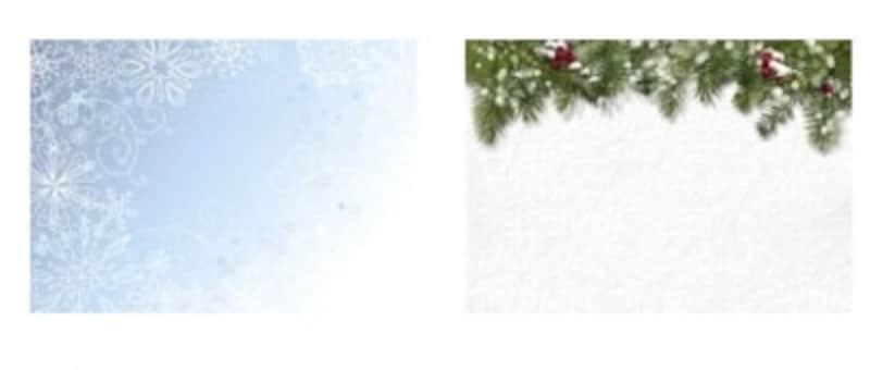 冬モチーフの画像がたくさん