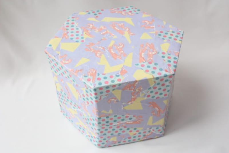牛乳パック椅子