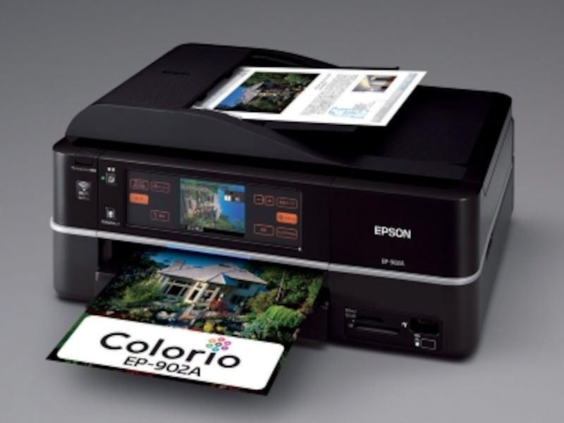 エプソンが2009年9月に発売したA4インクジェット複合機「ColorioEP-902A」