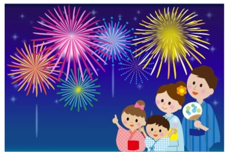 子供と花火大会を楽しみたいなら何をおっていくべき?