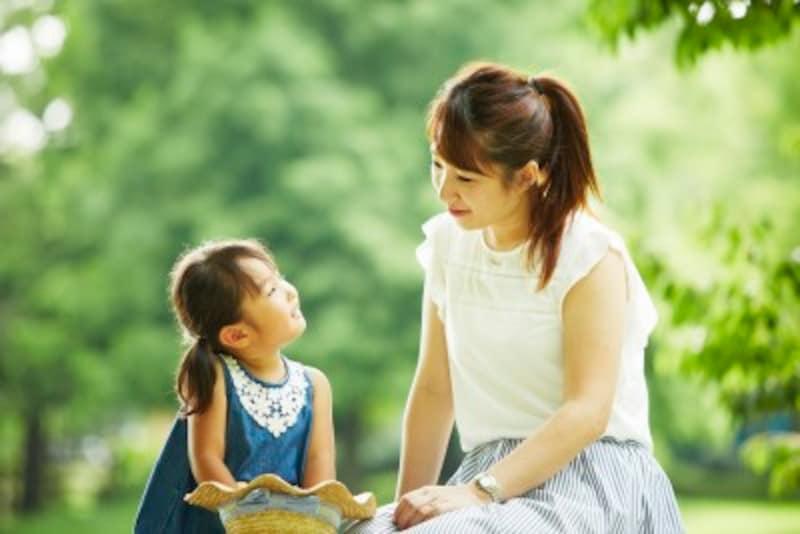 自己主張を育み伸ばすには、親も筋道だった話しをするよう心がけましょう